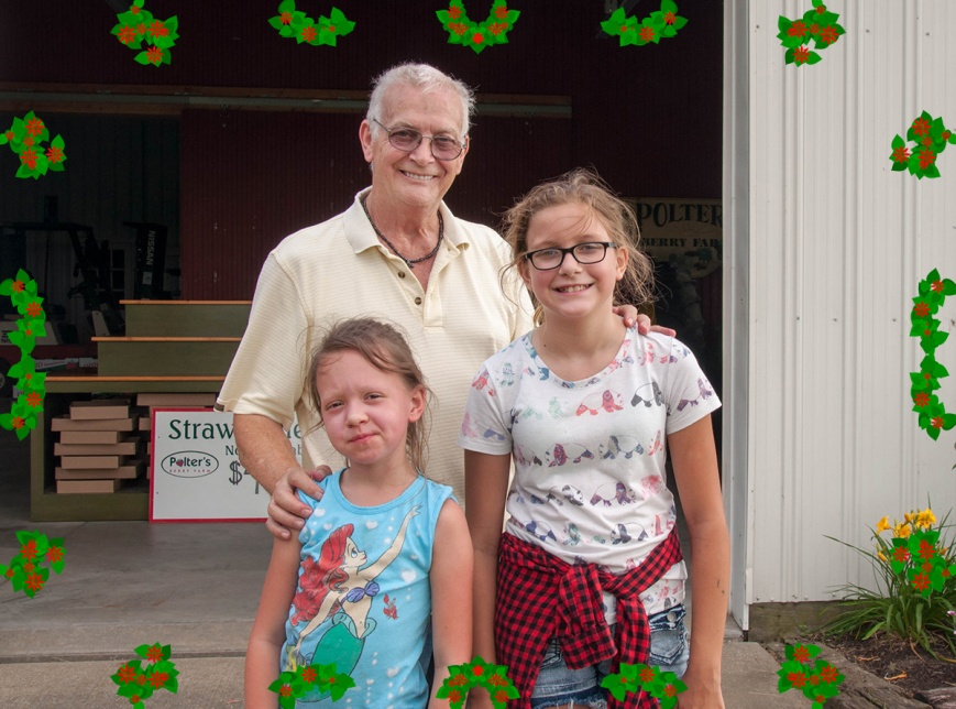 Papa With Granddaughters